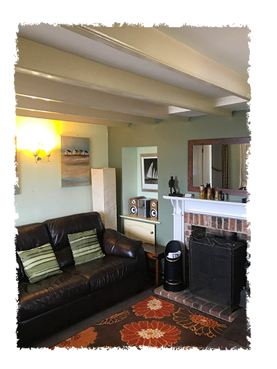 Another view of the lounge in Shangri-La, Staithes.