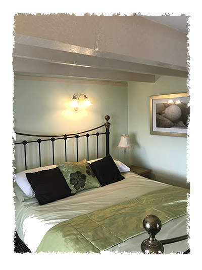 Another picture of one of the bedrooms in Shangri-La, Staithes.