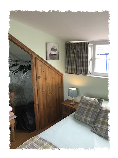 The bedroom in Shangri-La, Staithes.