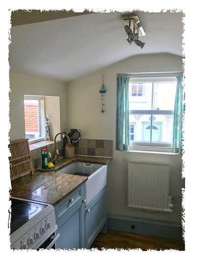 Another view of the kitchen in Sunnydene Cottage, Staithes.