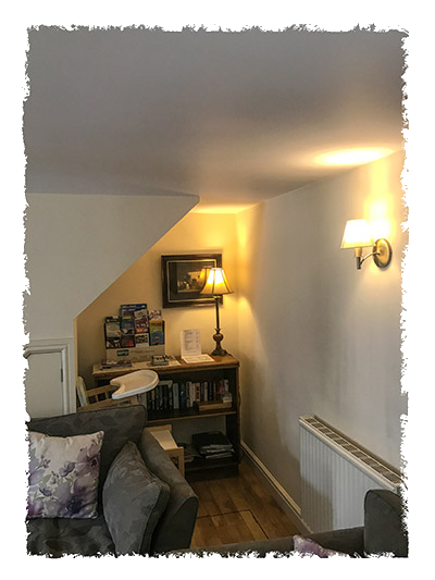 Another view of the lounge in Sunnydene Cottage, Staithes.