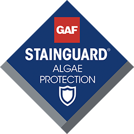 GAF products provide STAINGUARD and algae protection