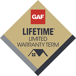 GAF products provide lifetime limited warranties