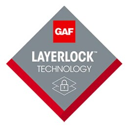 GAF products provide layerlock technology
