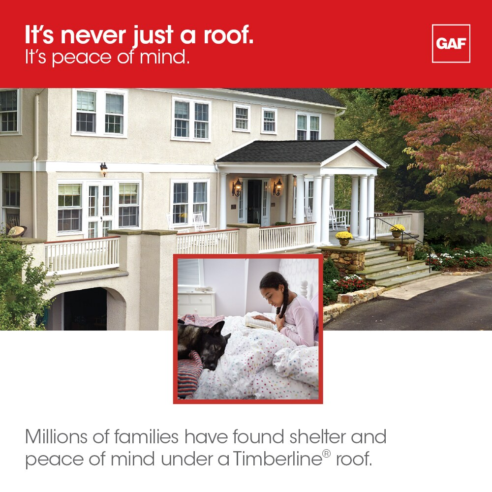 It is never just a roof it is peace of mind