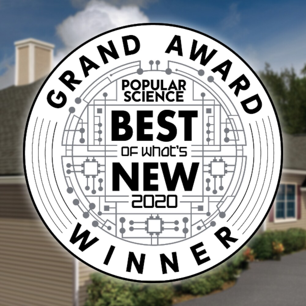 GAF Shingles were given the Popular Science Best of What's new 2020 award
