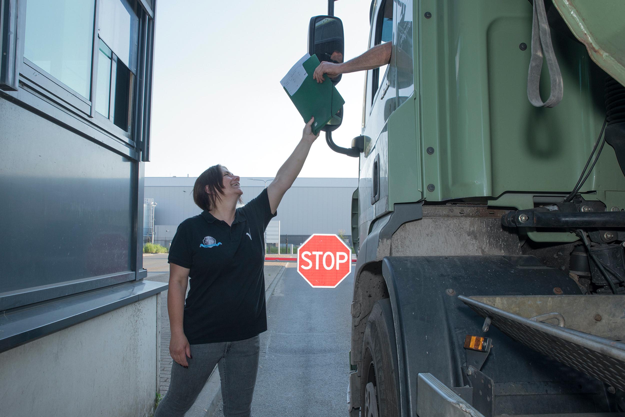 Logistieke beveiliging