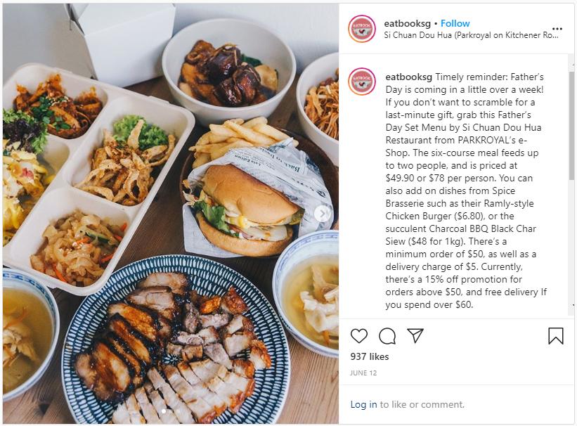 @eatbooksg instagram post