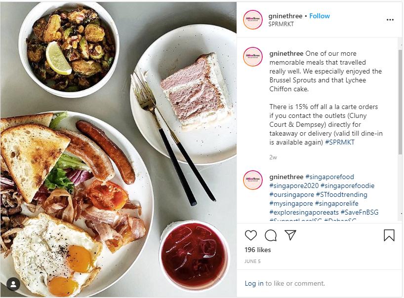 @gninethree food instagram blog