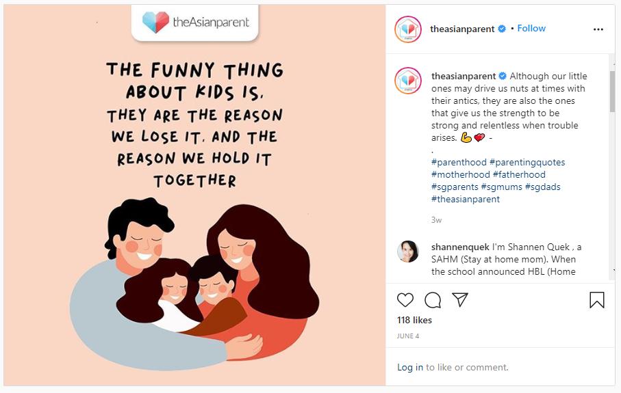screenshot of one of roshni mahtani's instagram posts