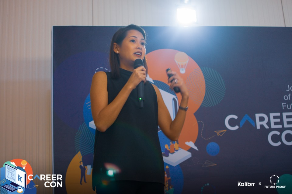 Evident's CEO Cecile Dominquez-Yujuico at #CareerCon2019