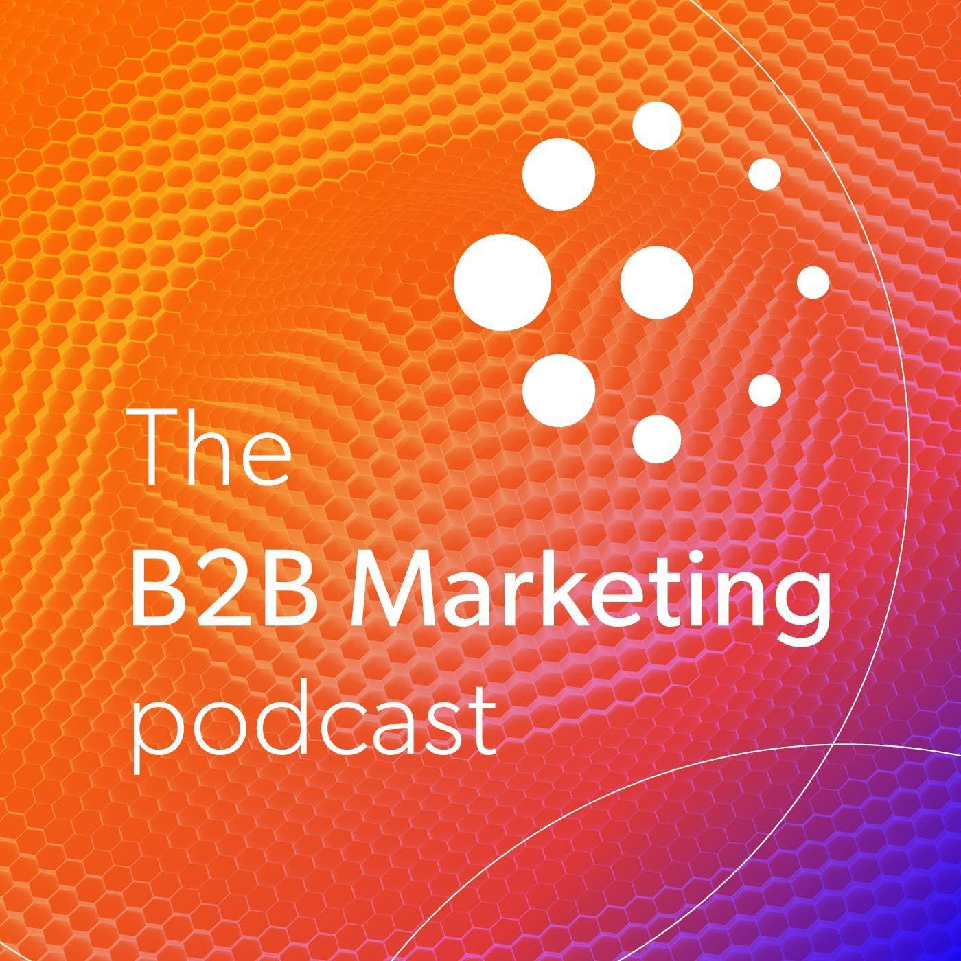 The B2B Marketing Podcast Digital Poster
