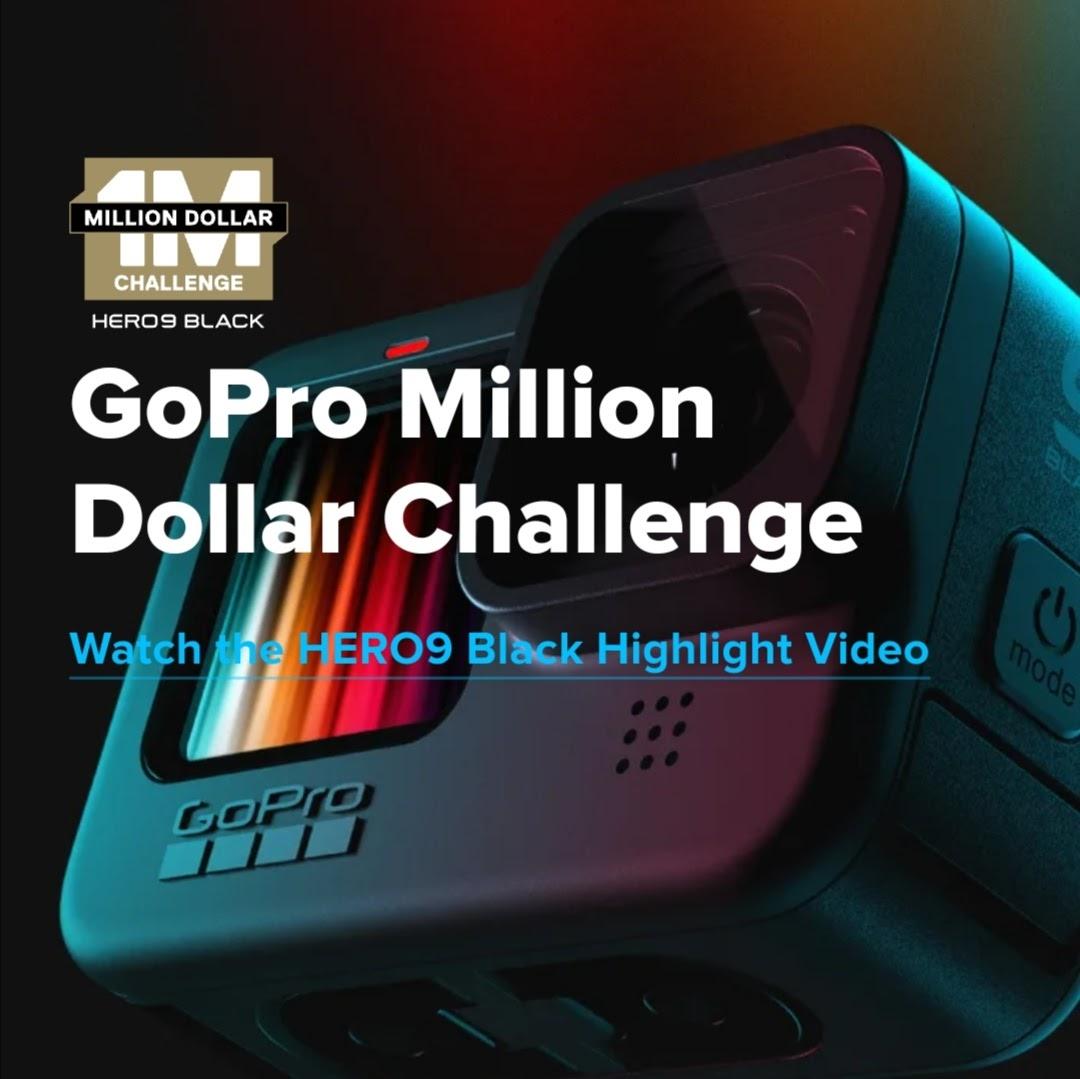 GoPro Million Dollar Challenge Digital Poster