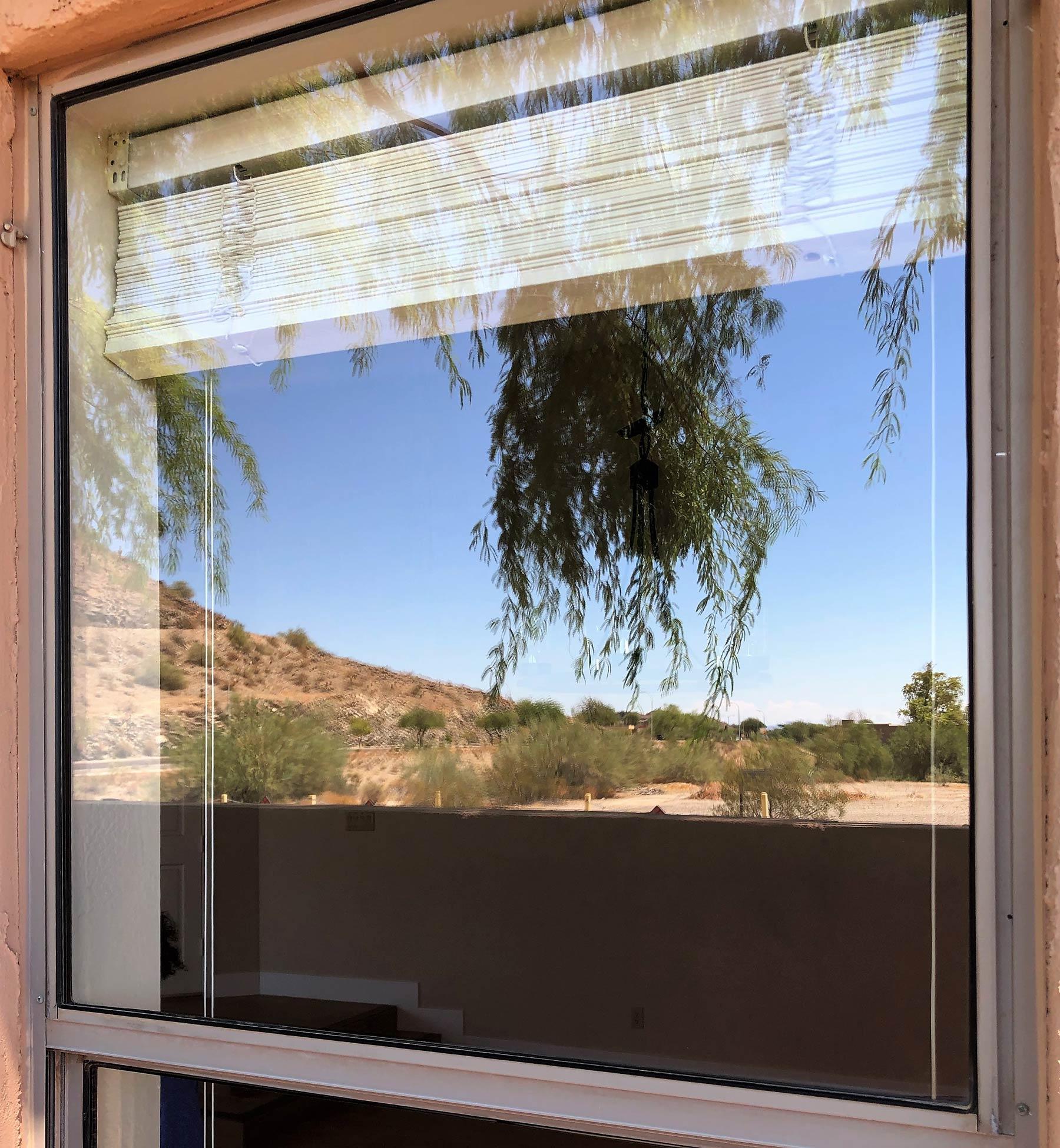 Cleaned windows in Phoenix, AZ