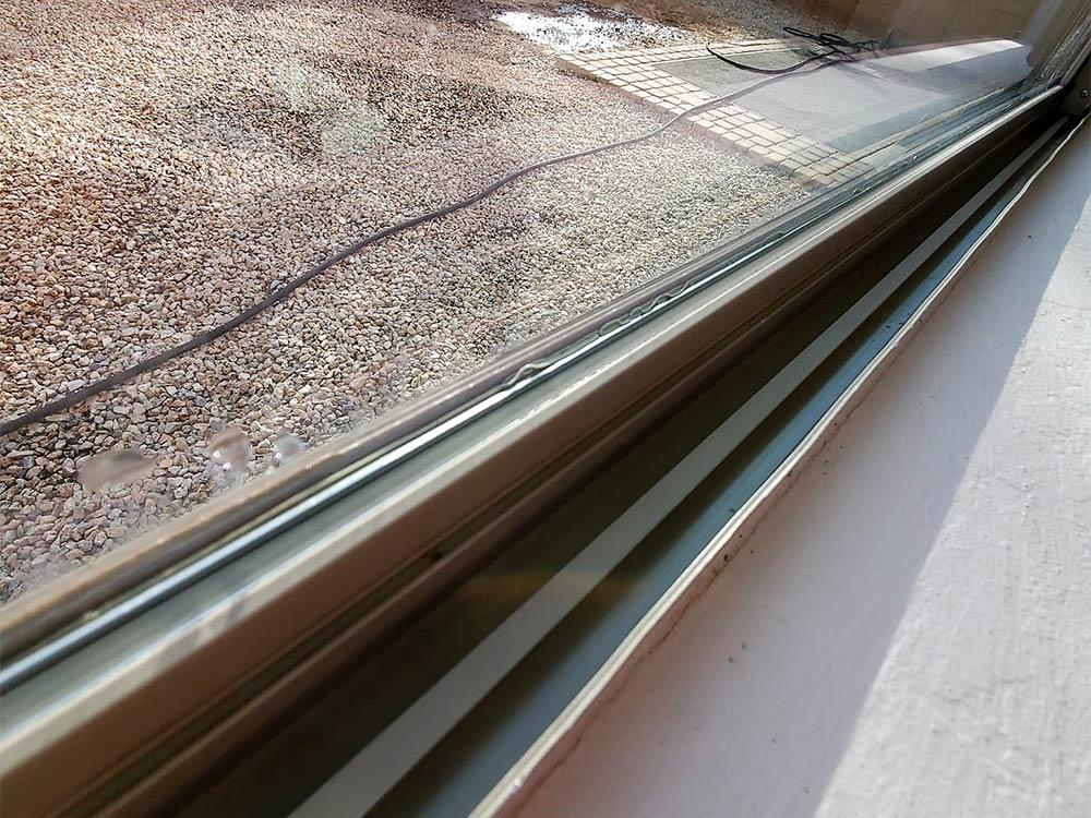Window track cleaning in Phoenix, AZ