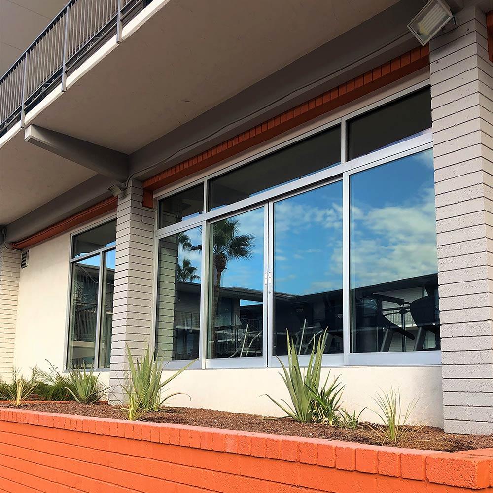 Gym windows cleaned in Phoenix