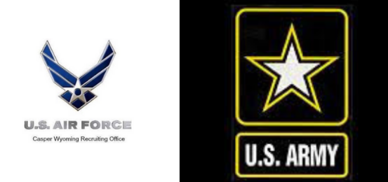 US Army and US Air Force logo