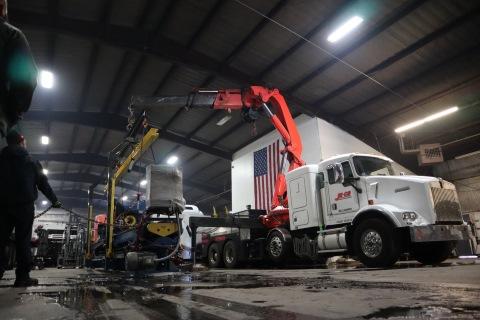 truck-mounted crane repair