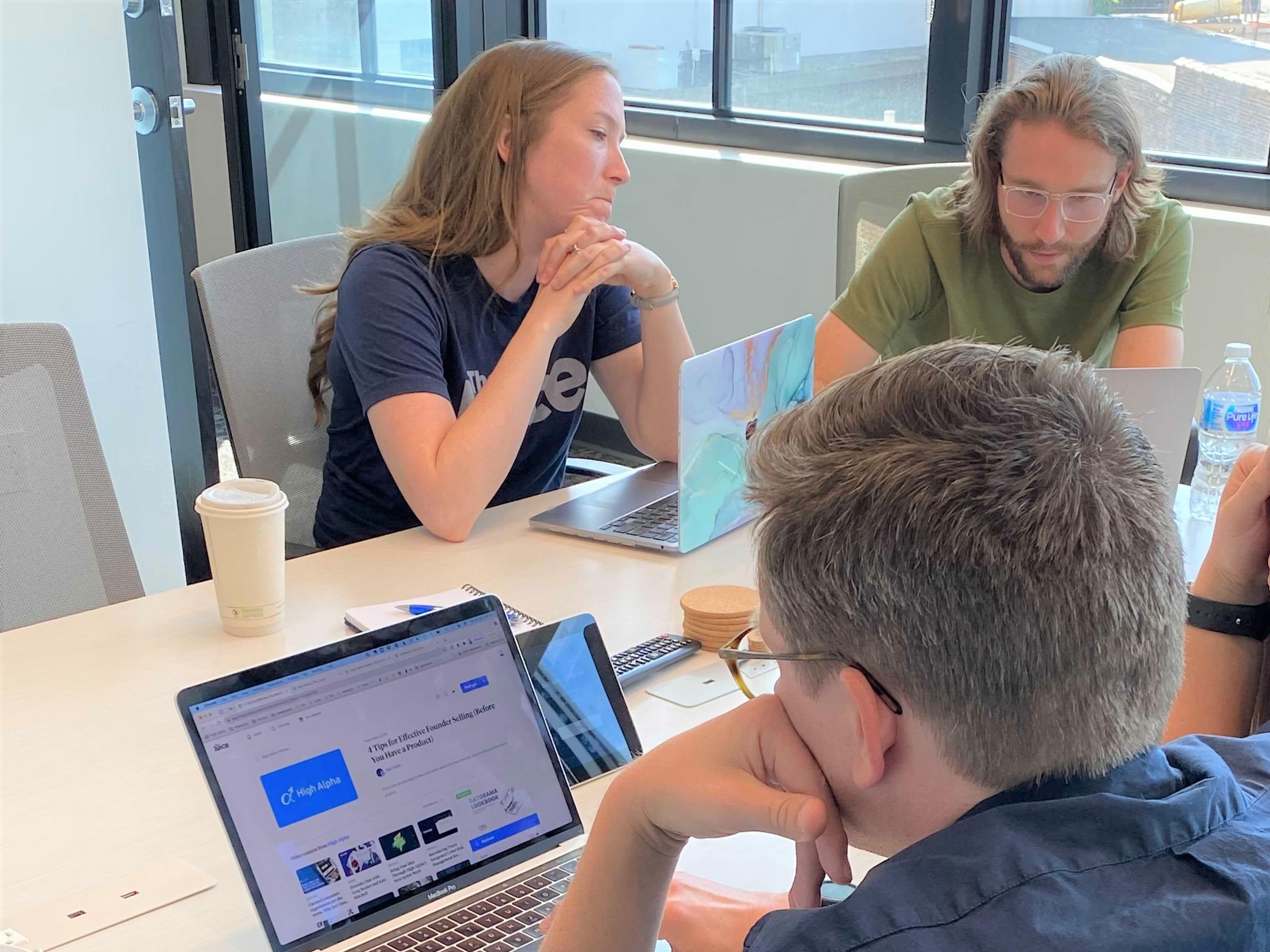 Using community to launch a B2B MarTech company