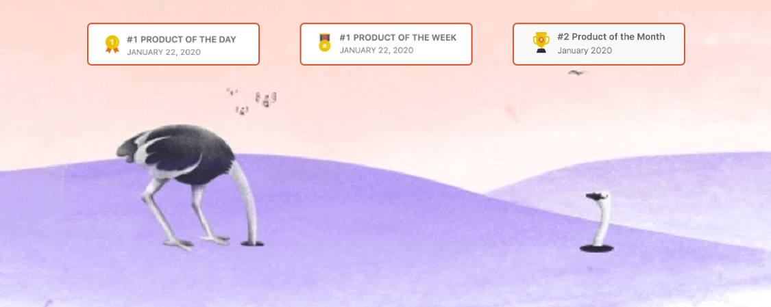 win product of the day on Product Hunt