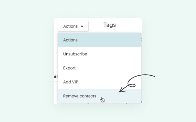 Delete Contacts from Mailchimp
