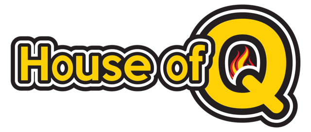 Logo for House of Q BBQ company.