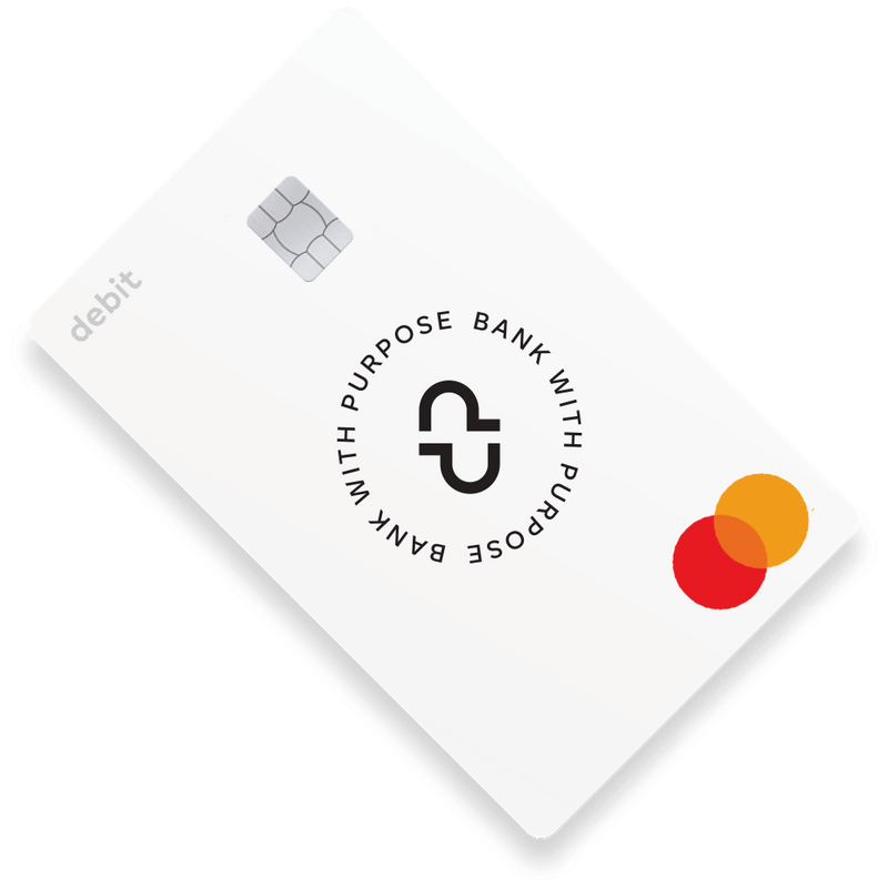 Bank with Purpose Card