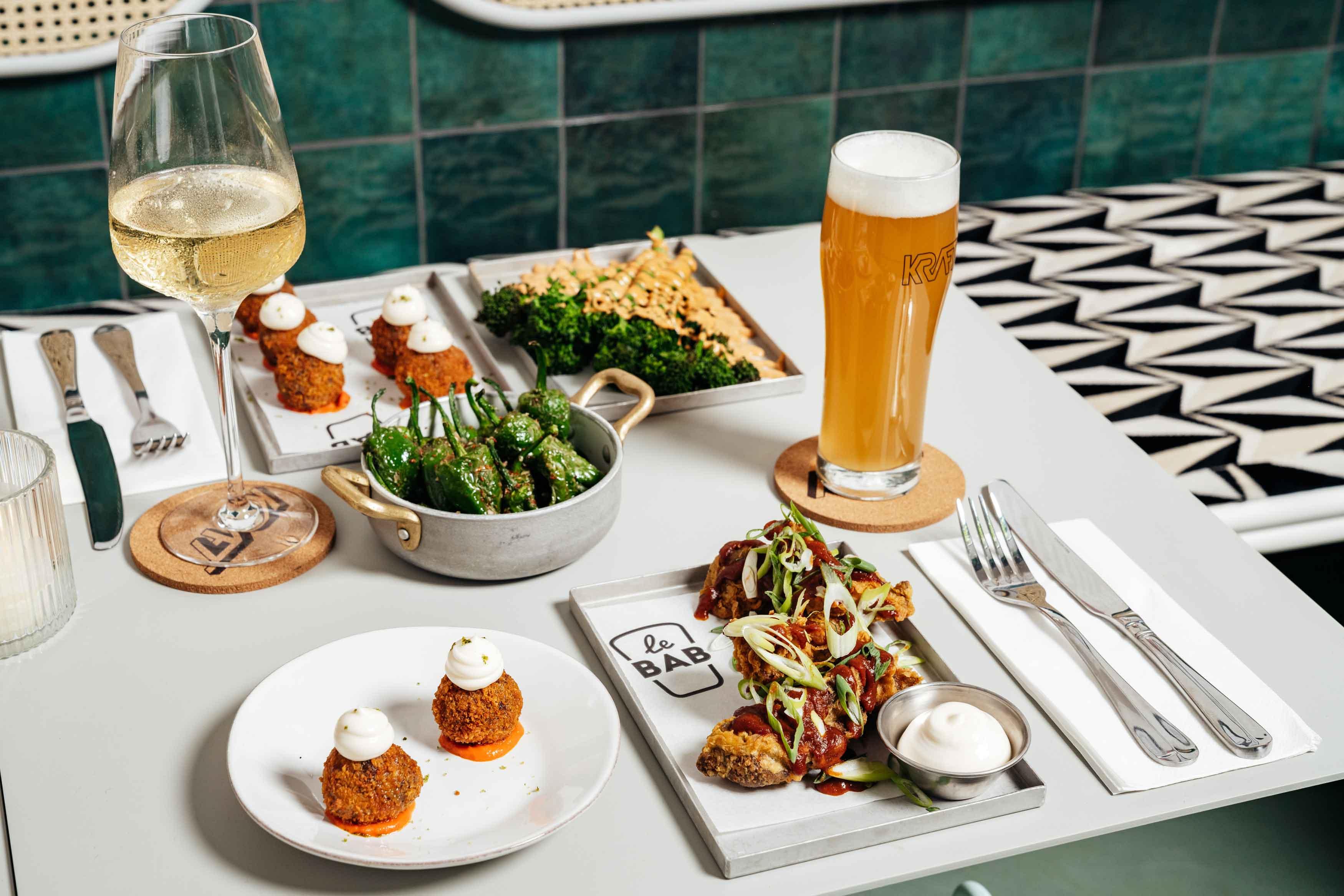 Kraft Dalston - Food & Drink - Korean Fried Chicken - Le Bab - German Kraft Brewery - Jim And Tonic Distillery - Kingsland High Street