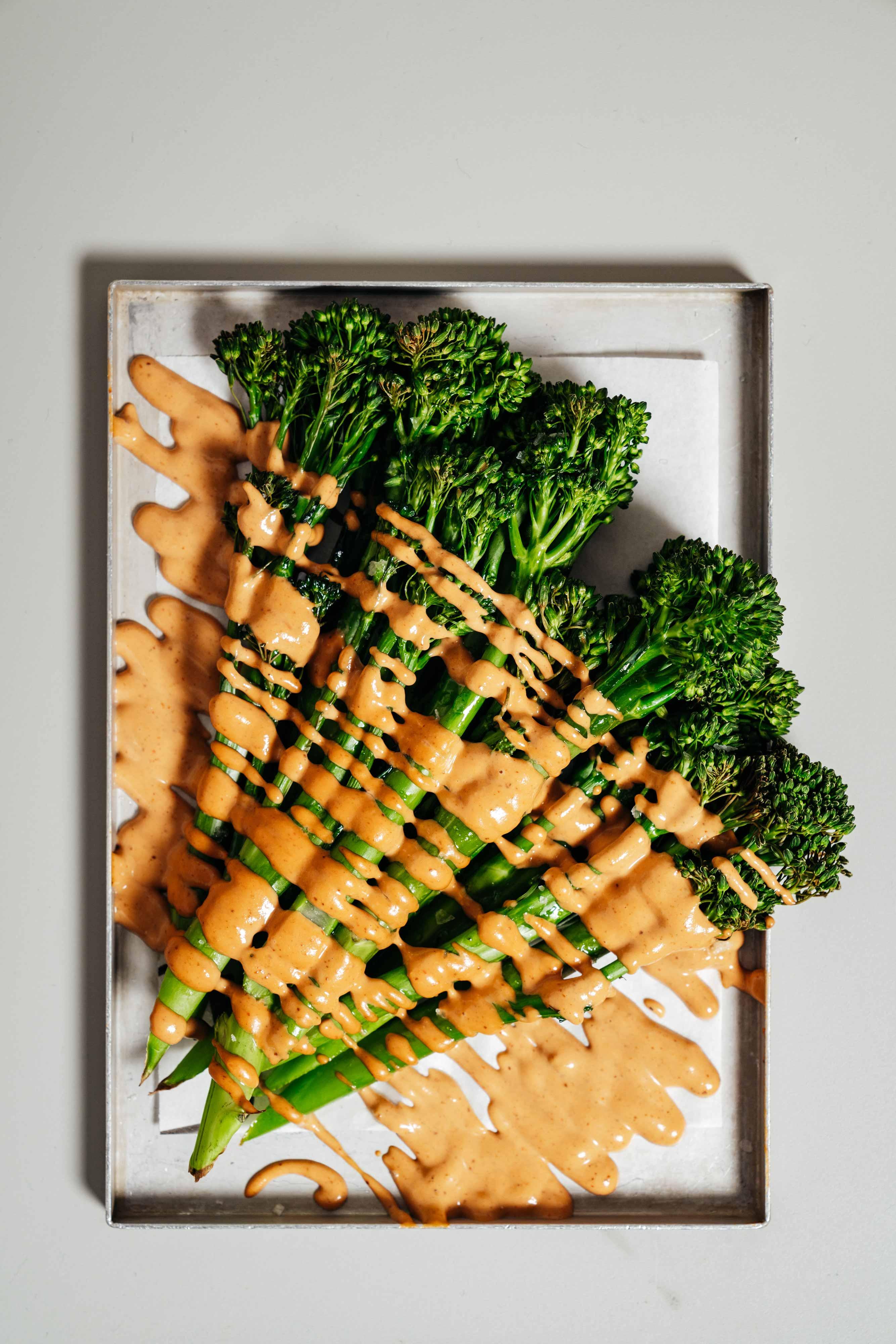 Le Bab - Vegetarian spicy broccoli