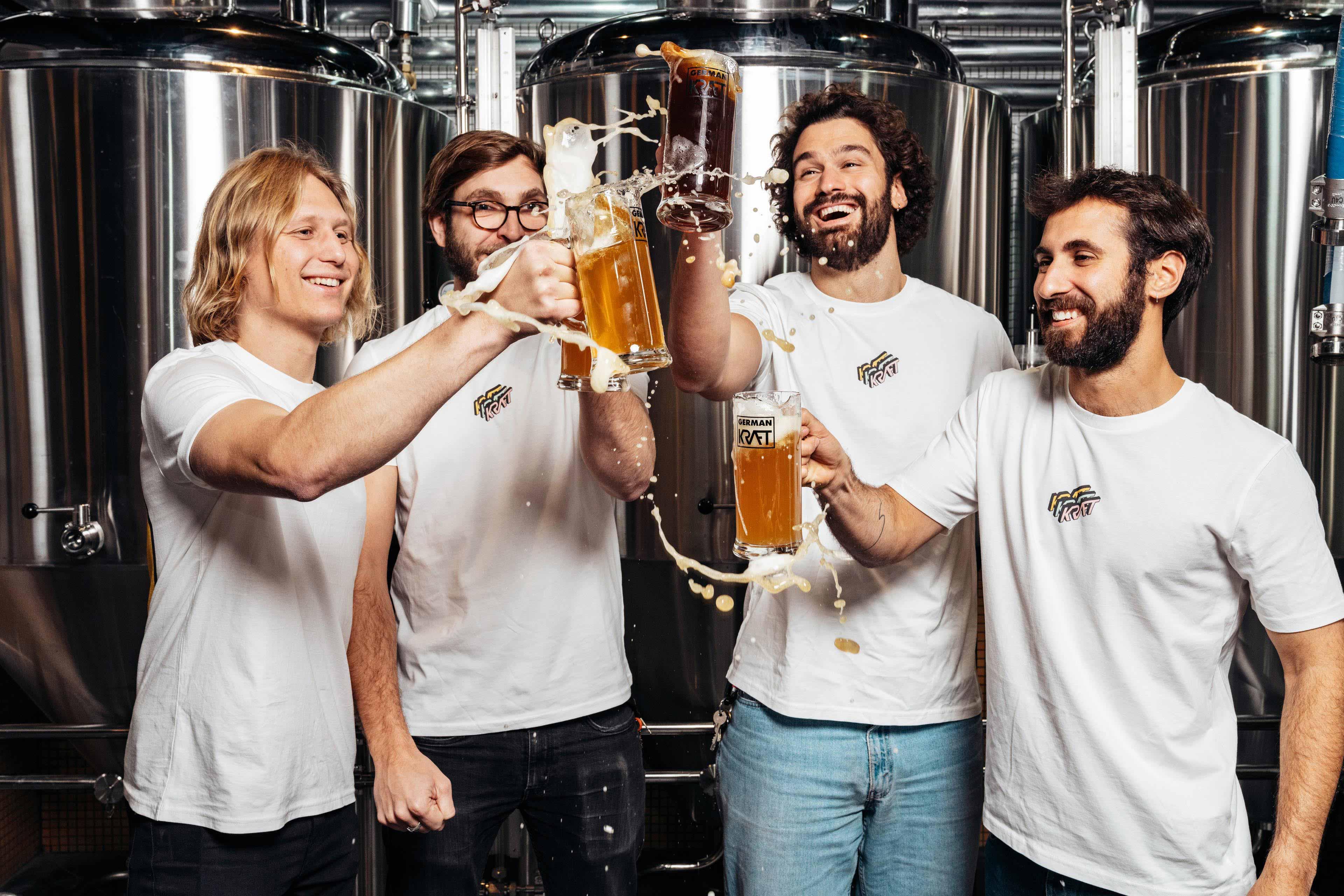 German Kraft Brewery Team. Próst. Cheers.