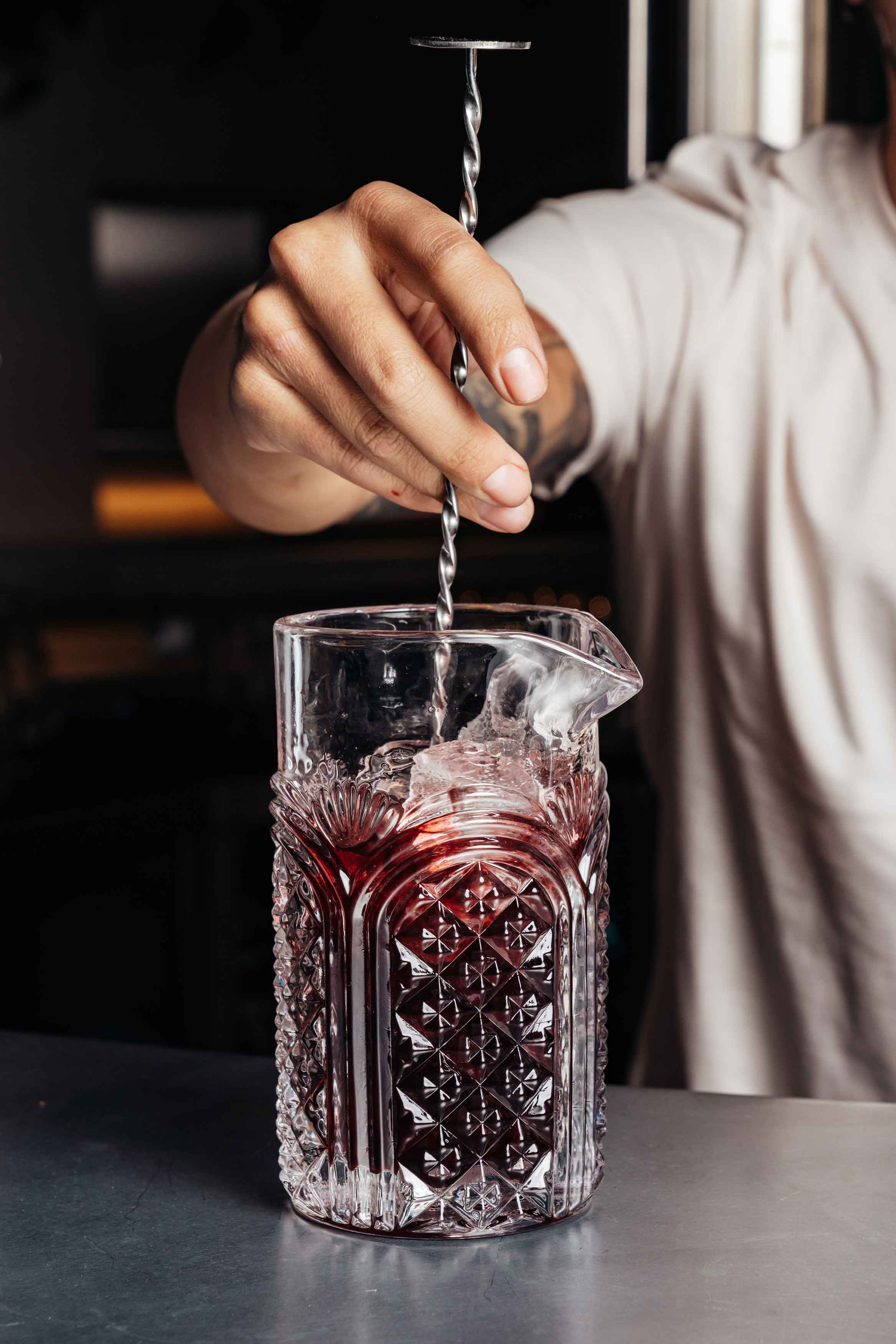 Red-Cocktail-kraft-dalston-kraftdalston-jim-and-tonic-distillery-brewery