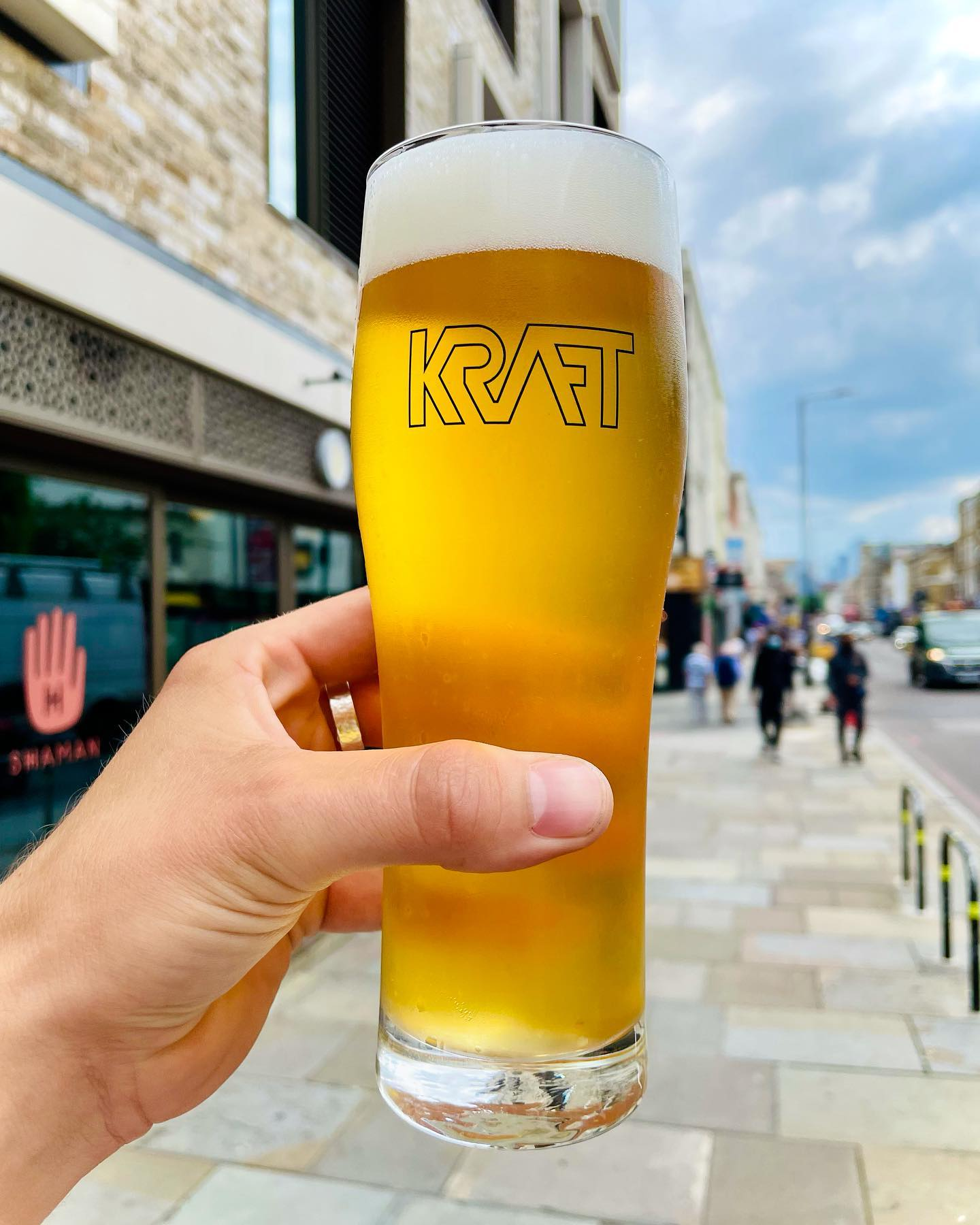 New Beer Release! Peter Pilsner 4.6% 🧊👌💎Our 3rd batch brewed on site at Dalston. This is a crispy boi hopped with Hallertauer Tradition, Spalter Select & Tettnanger. Super sessionable and pouring fresh from the tank from tomorrow! 🤤