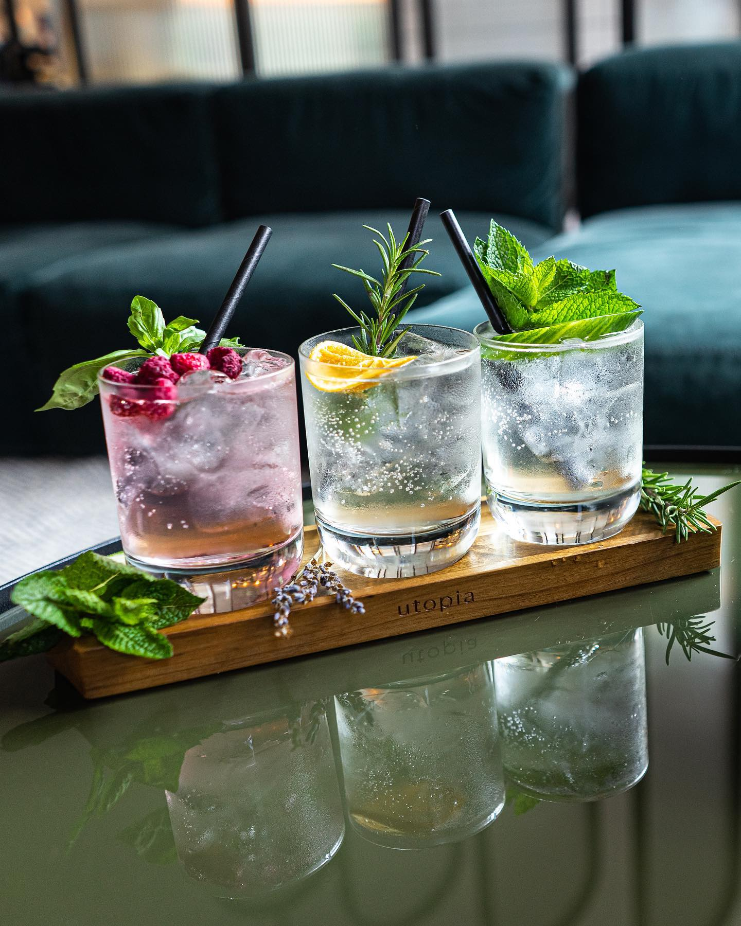 We're now offering G&T tasting flights so you can taste all the signature @jimandtonicdistillery gins in one go! 🤤
