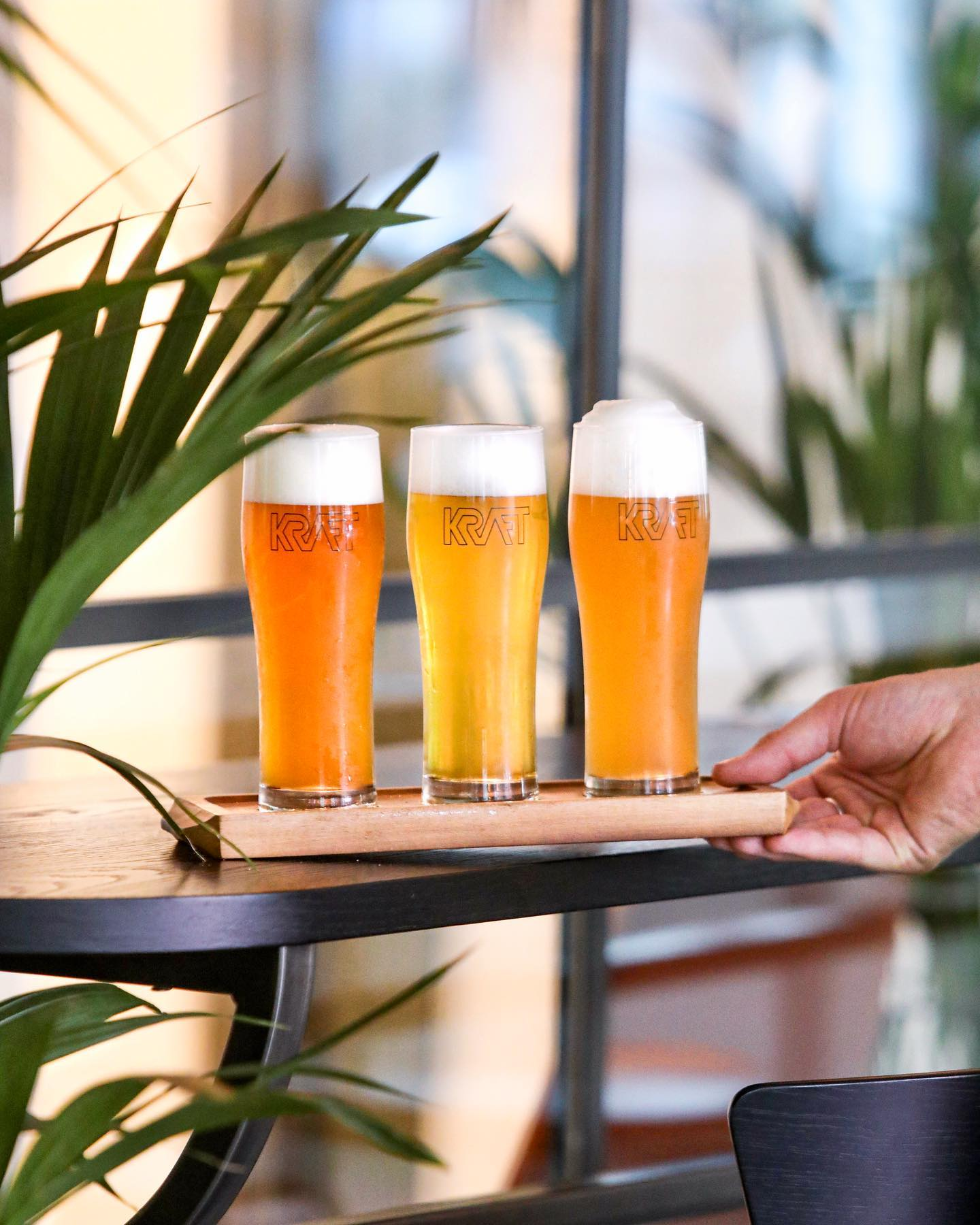 Yees, beer flights are available at the bar & restaurant. Try 3 half pints of our beers brewed on site for £9 🍺🍺🍺