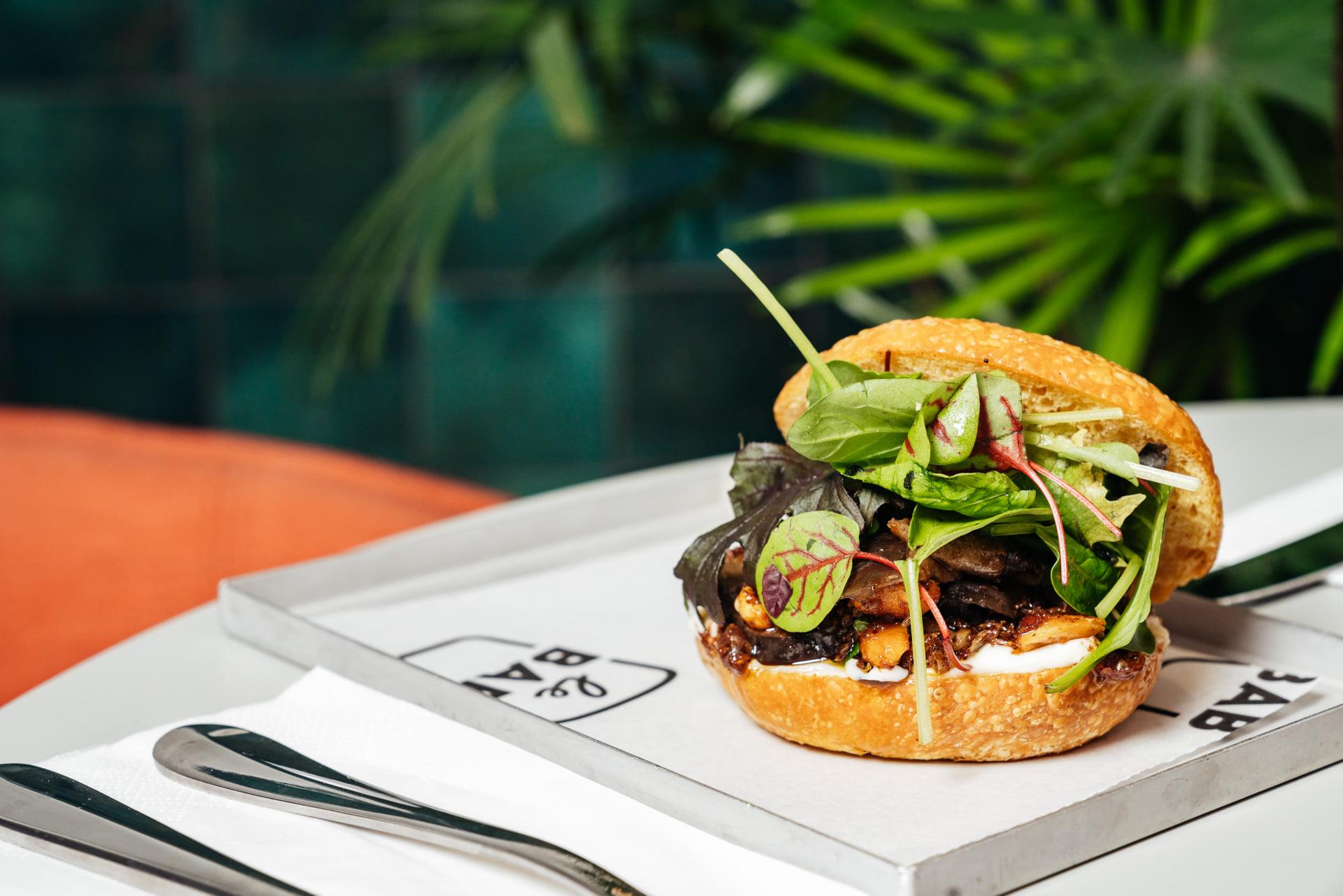 Kraft Dalston burger