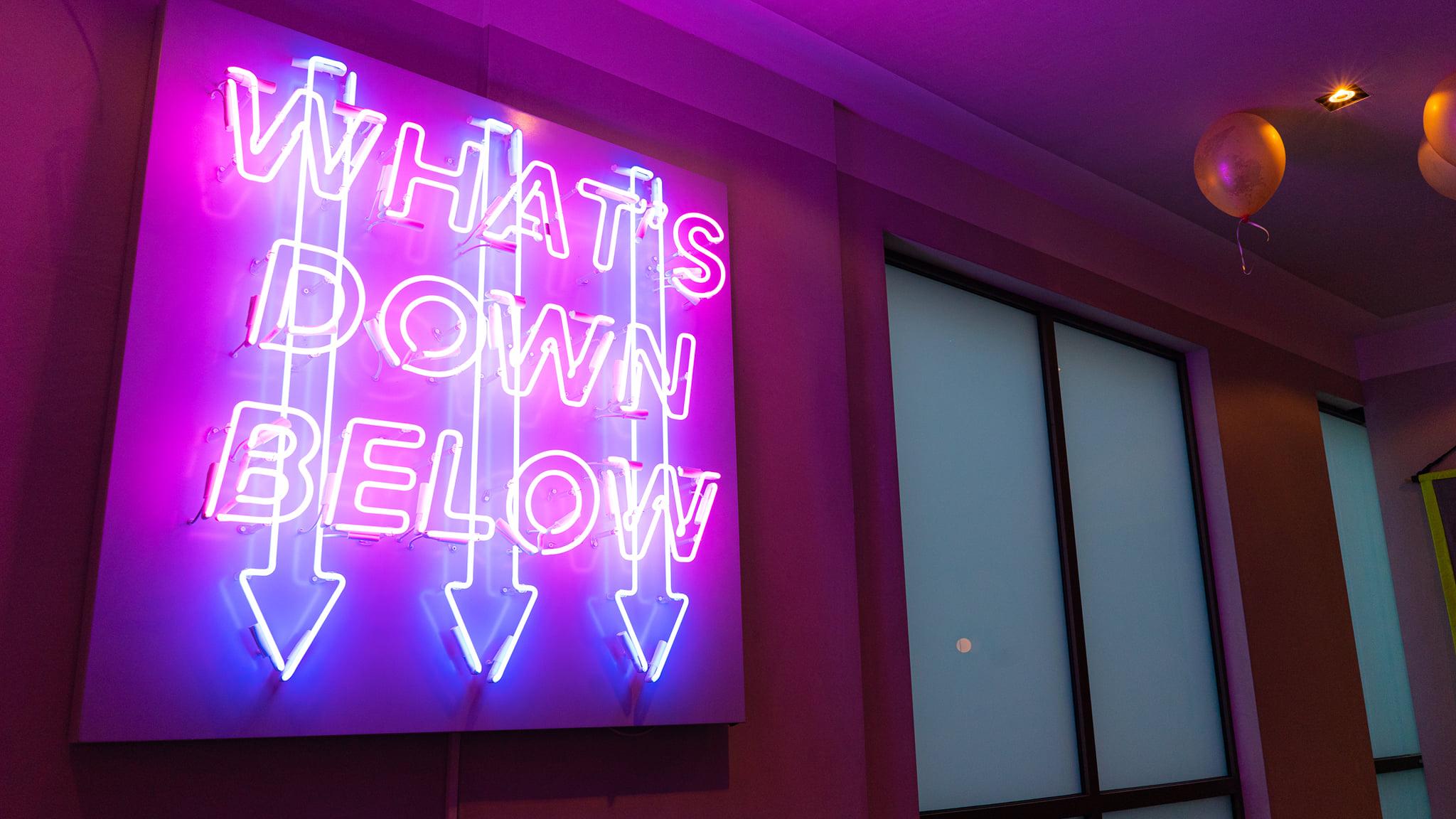 Kraft Dalston neon sign