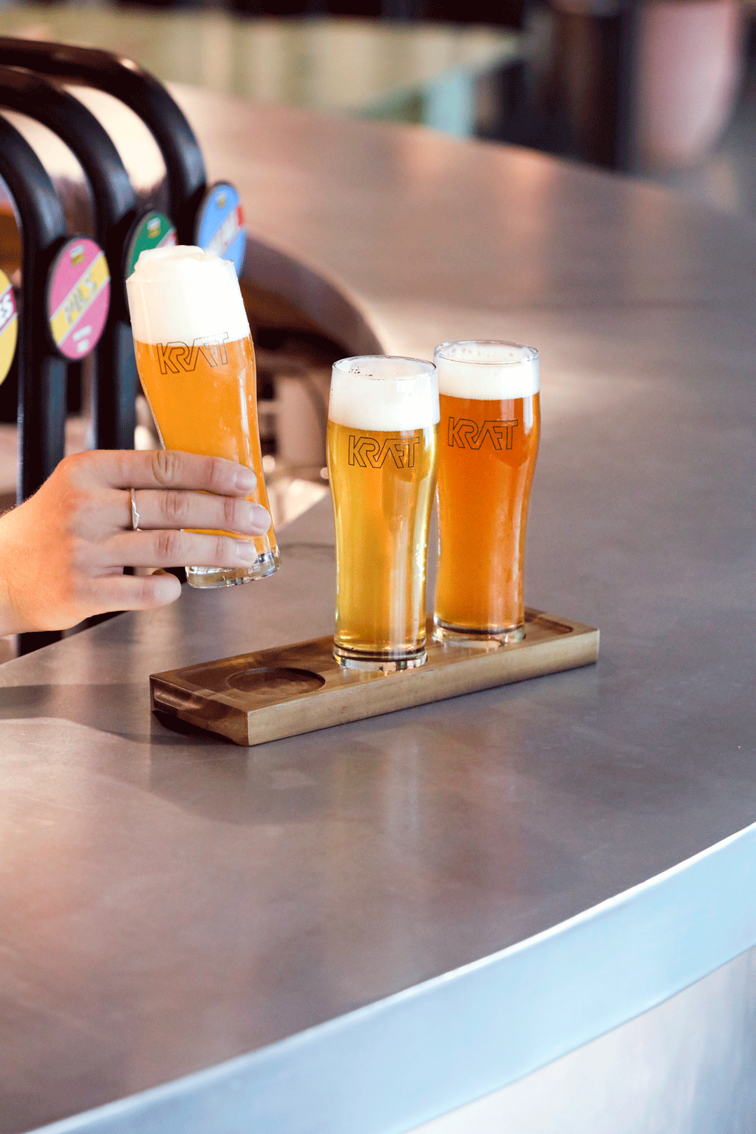 german-kraft-dalston-beer-tasting-flight-london-shoreditch-craft-brewery