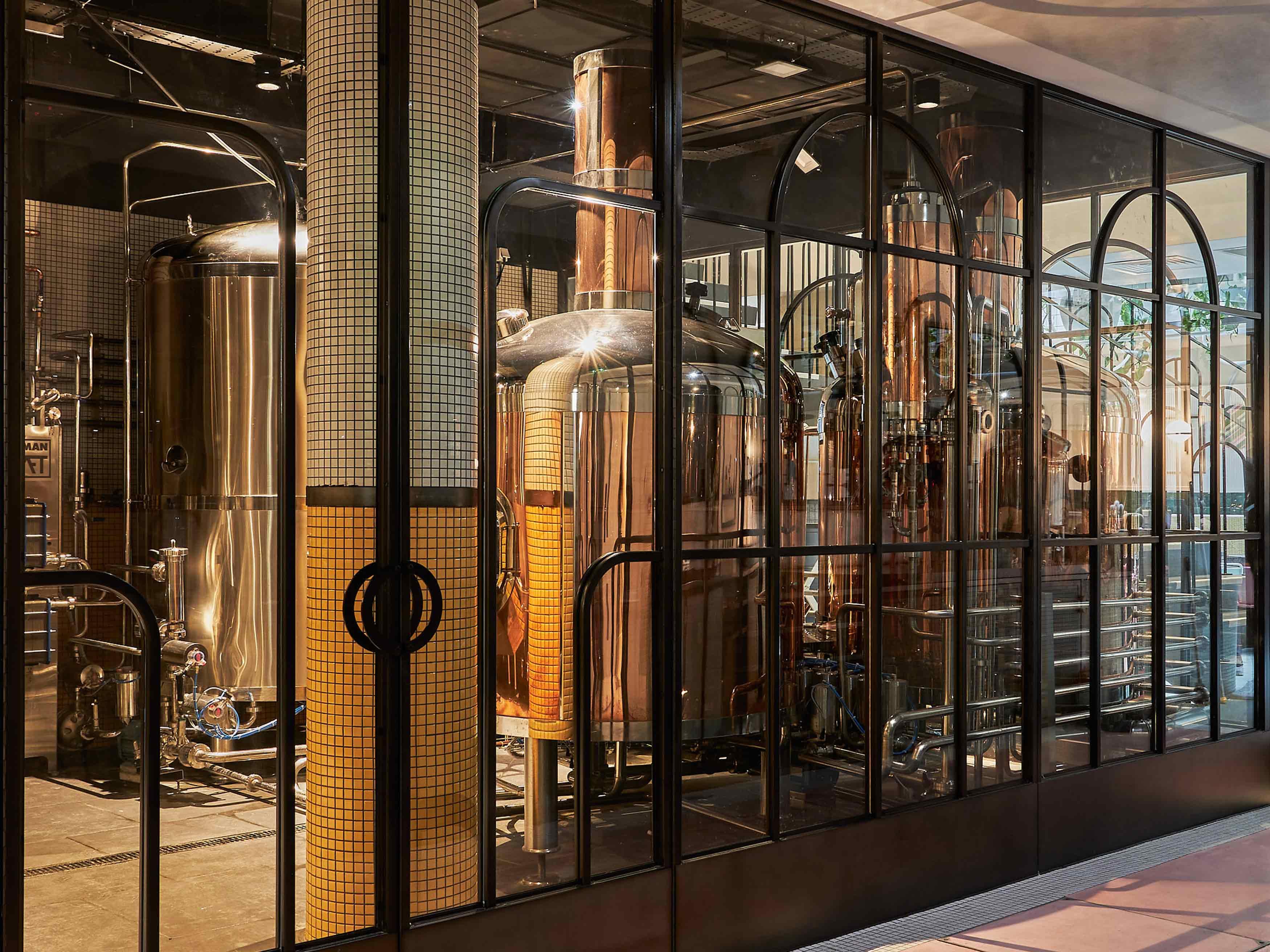 german kraft dalston brewery, east london