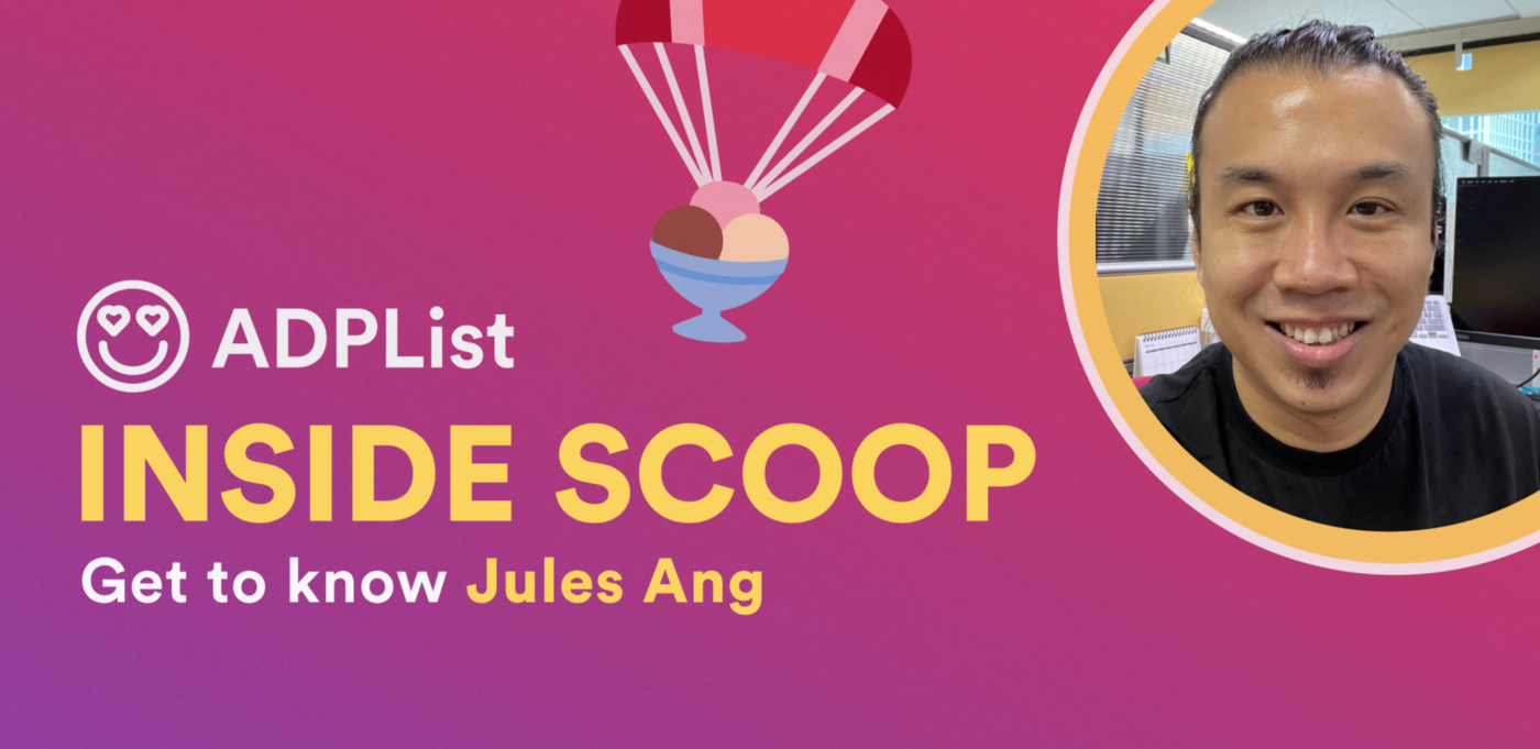 � The Inside Scoop — Jules Ang 🇸🇬