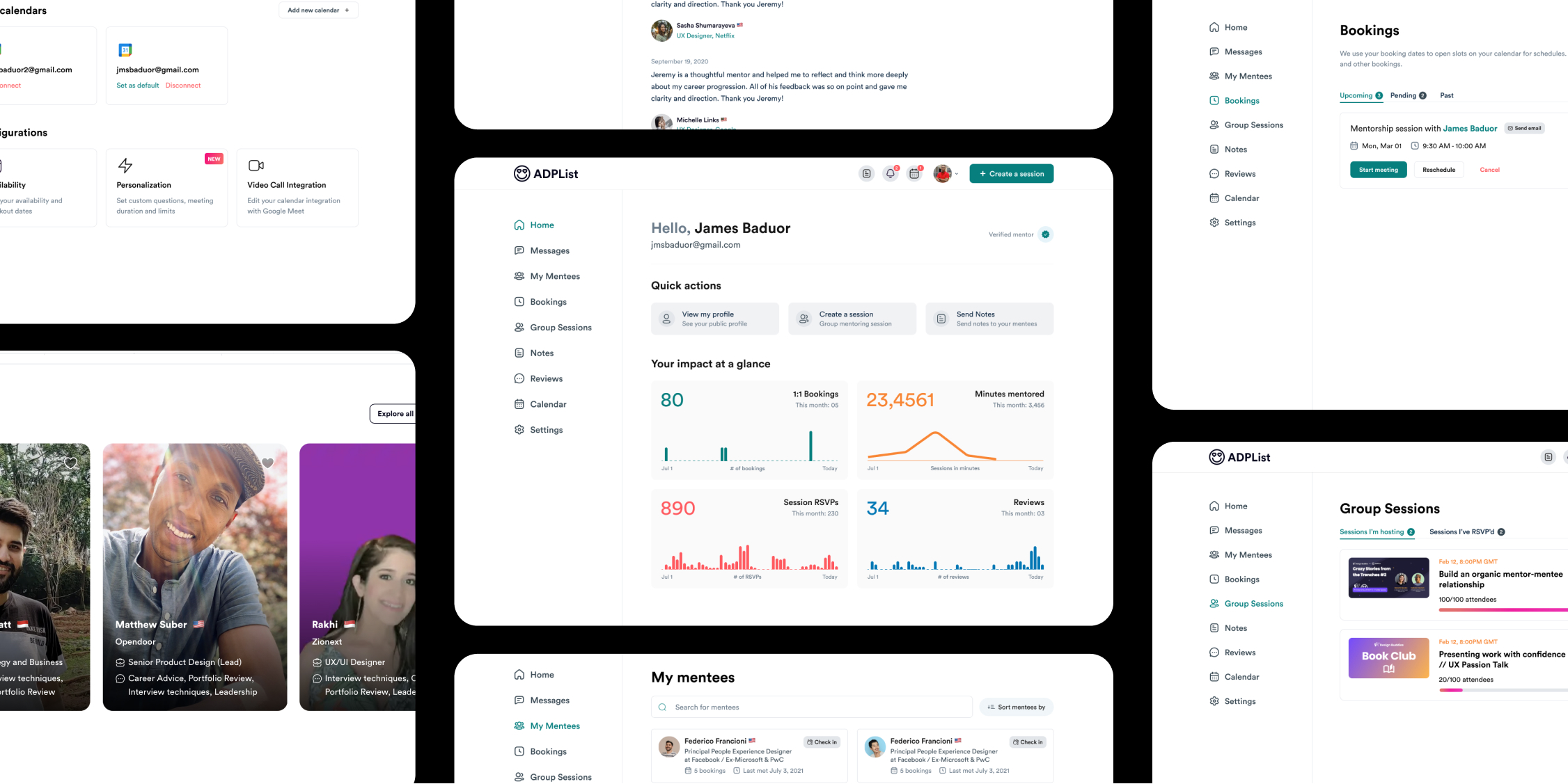 Impact, by design — Introducing a New Mentor Dashboard