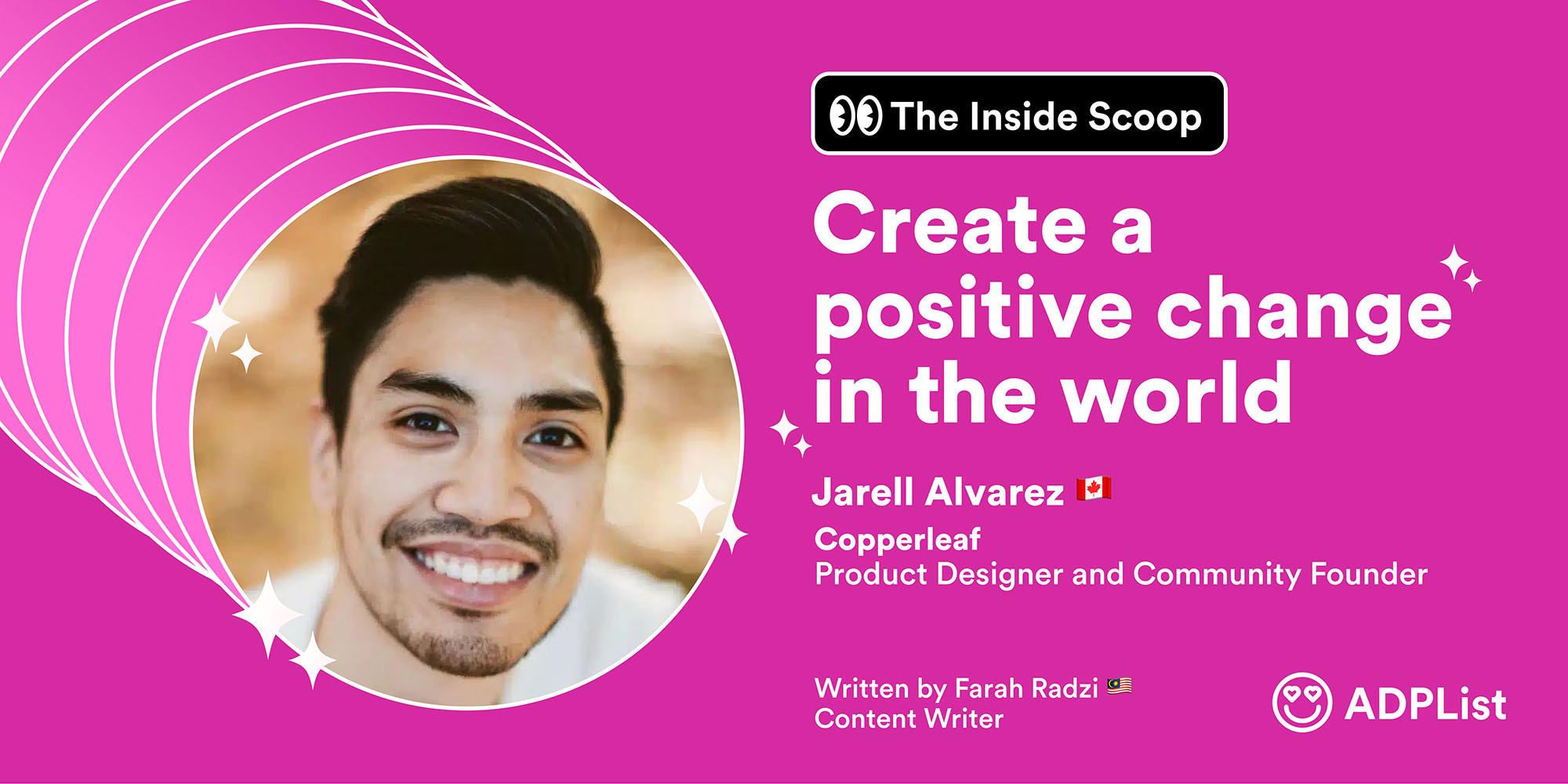 � The Inside Scoop : Jarrel Alvarez 🇨🇦