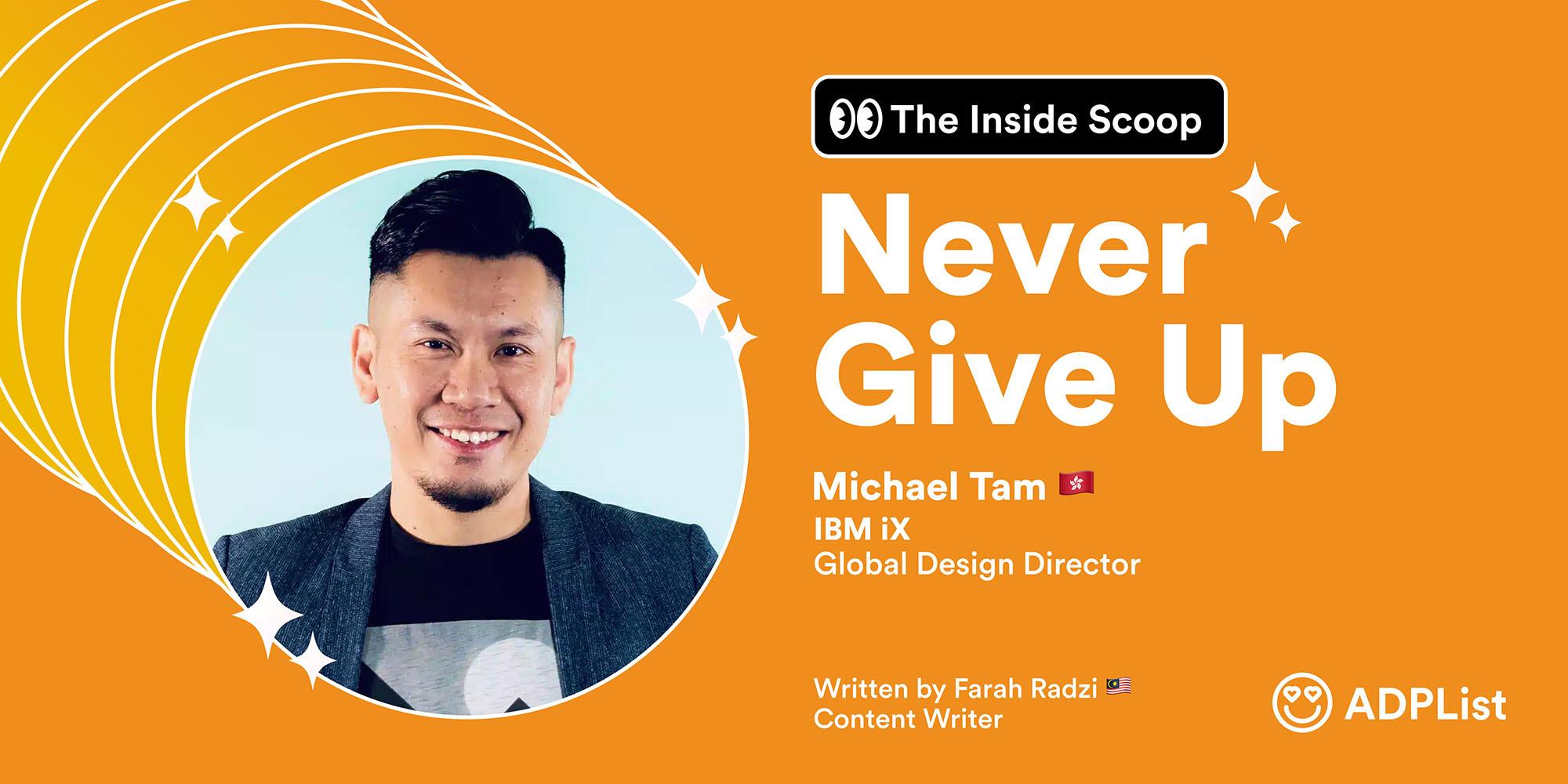 🍨 The Inside Scoop : Michael Tam 🇭🇰