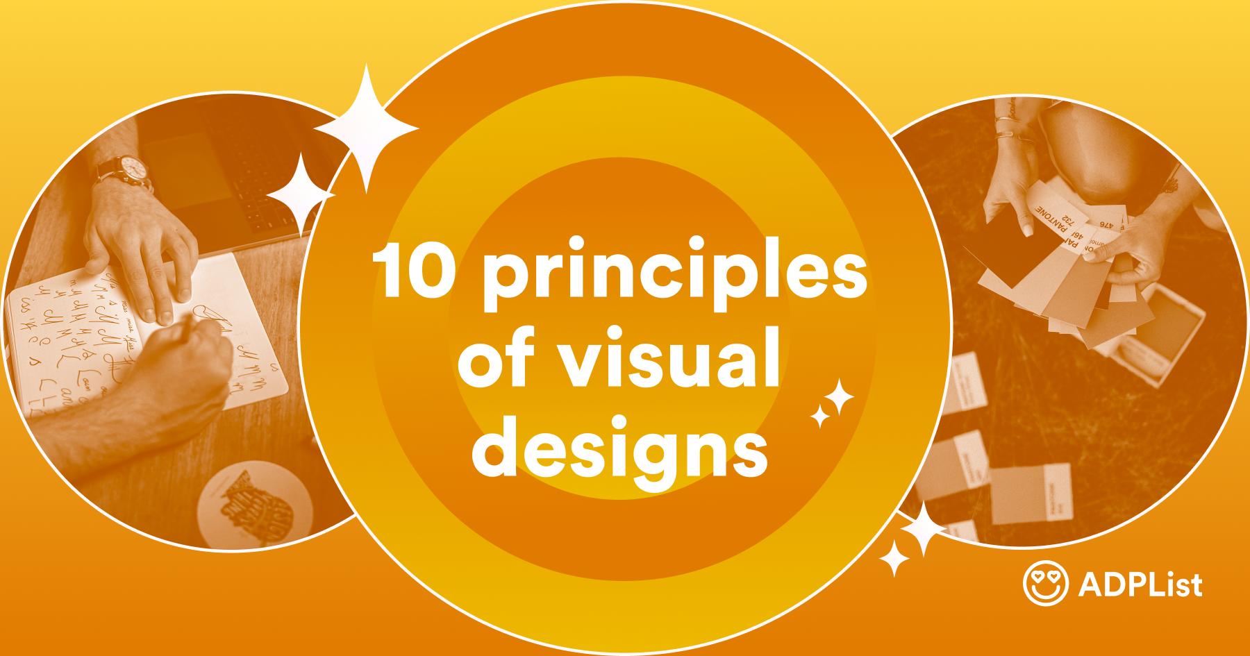 10 principles of visual designs