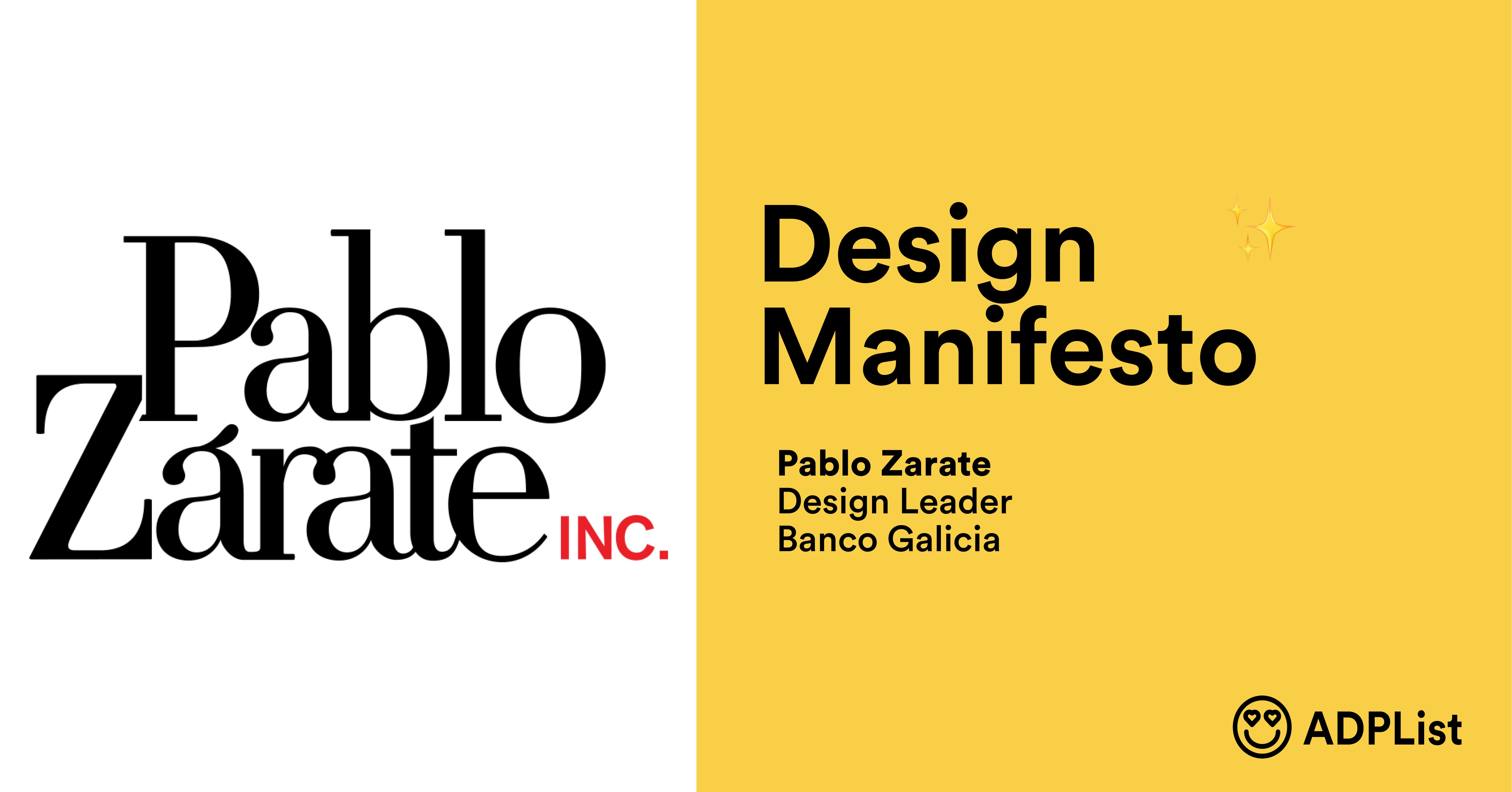 A Design Manifesto