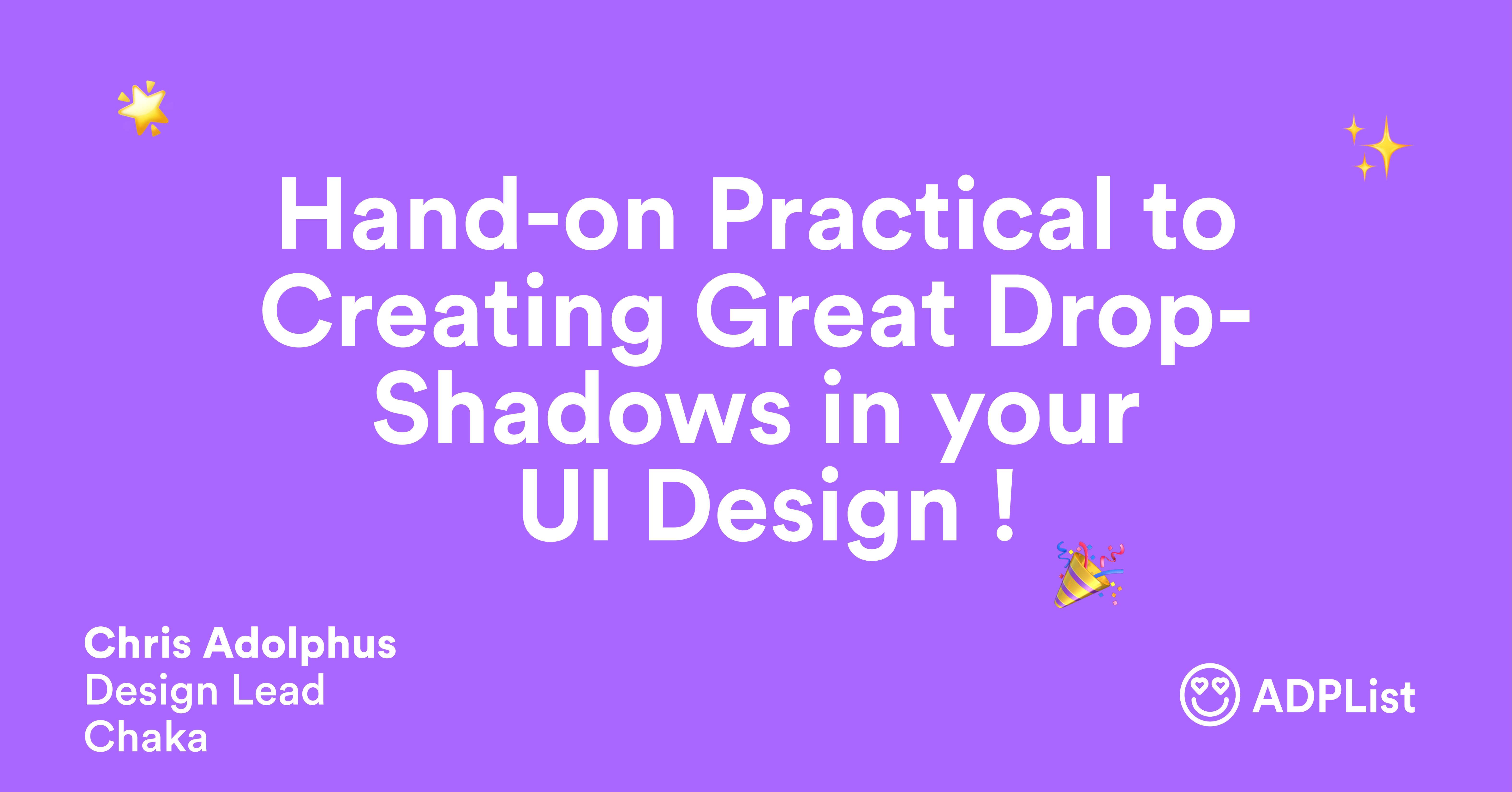 How to make a great shadow in UI design