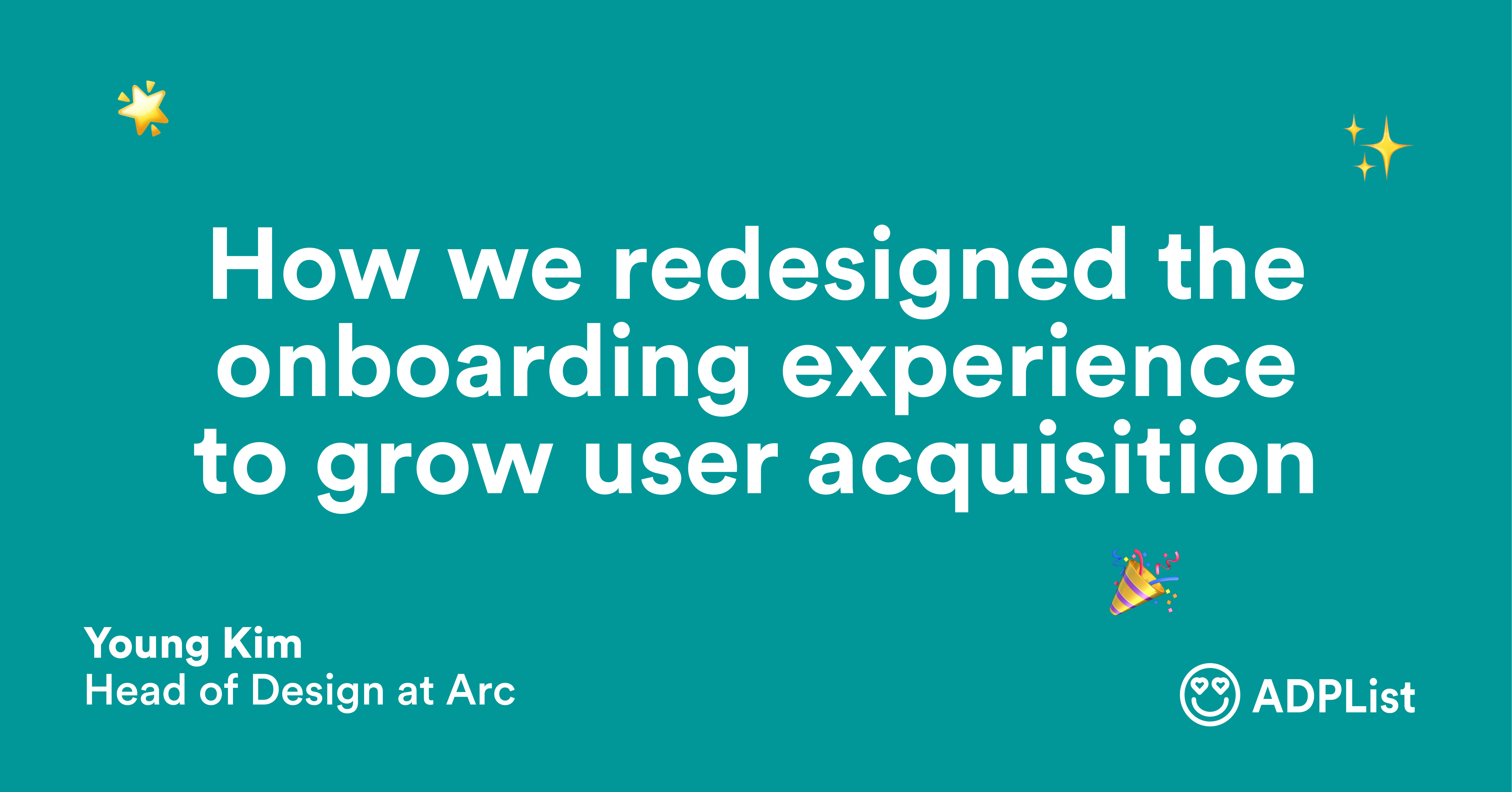 How we redesigned the onboarding experience to grow user acquisition