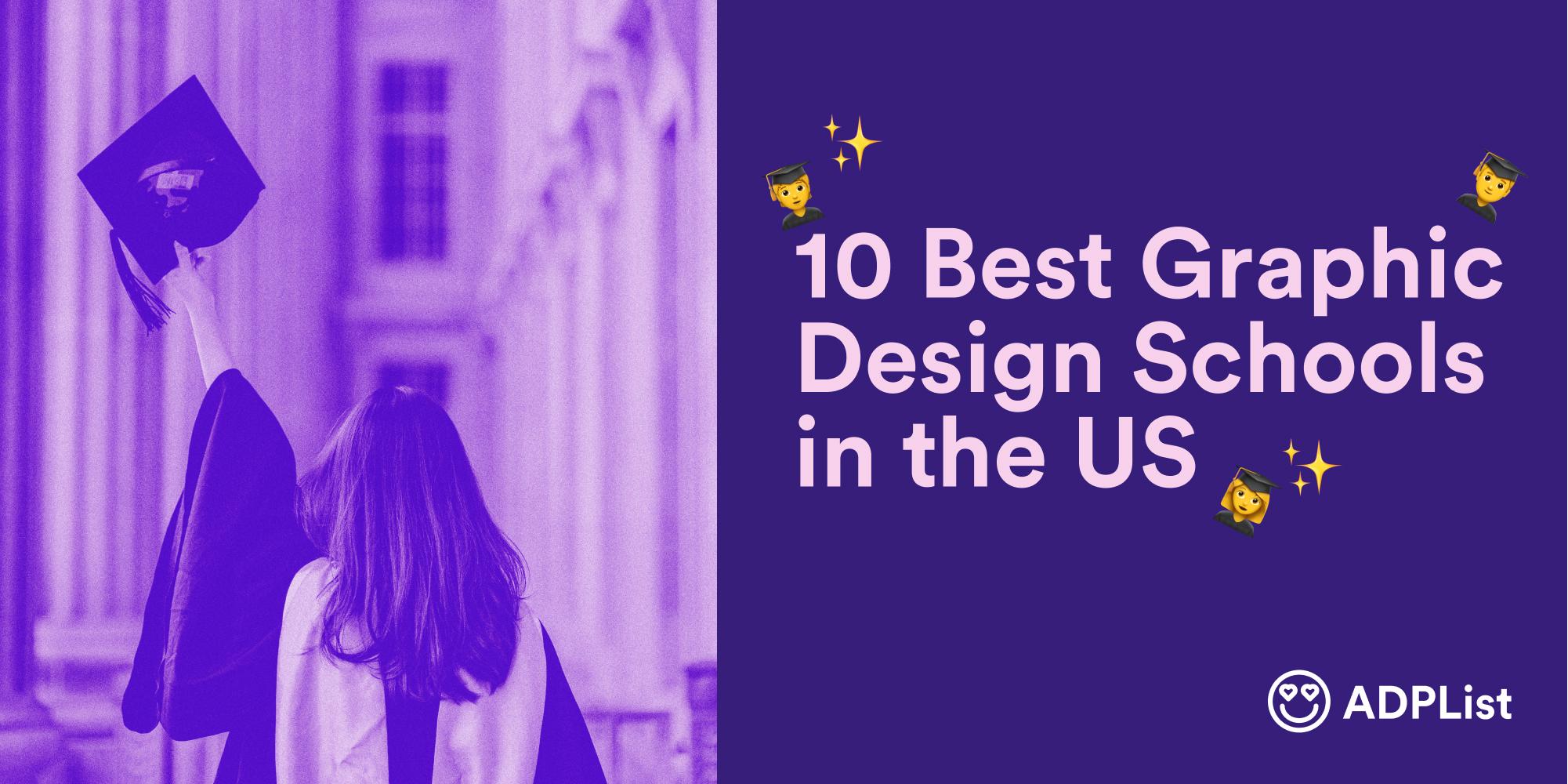 10 Best Graphic Design Schools in the US