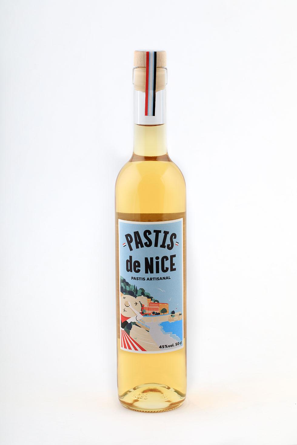 Bouteille de Pastis de Nice