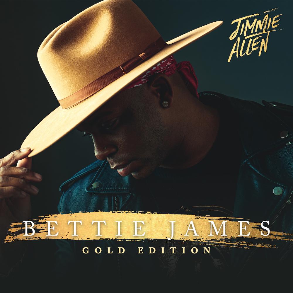 Artist Jimmie Allen  | Bettie James Gold Edition Album Cover