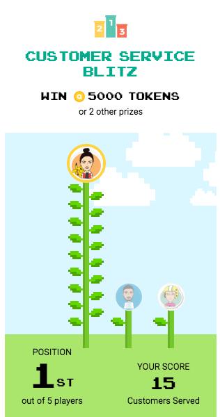 Arcade App Screenshot - Tournament Game
